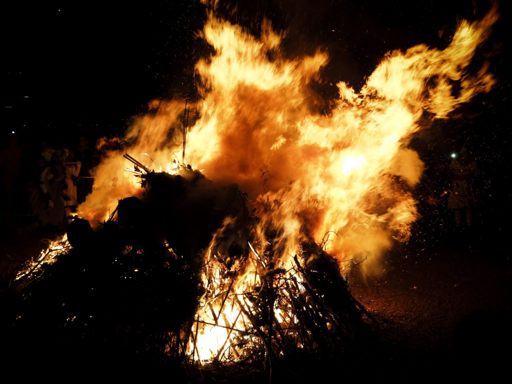 Bonfire, Beltane Fire Festival Edinburgh