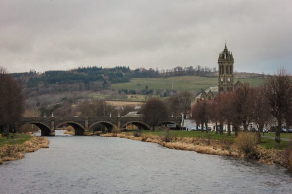 Winter trip to Peebles